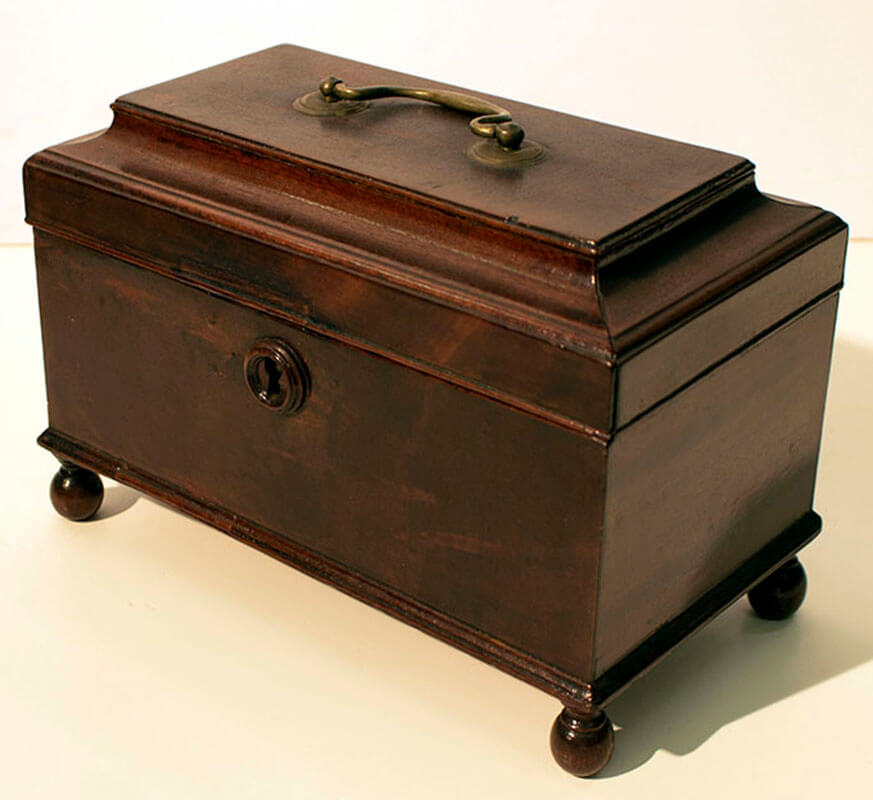 Kezia Coffin's Tea Caddy