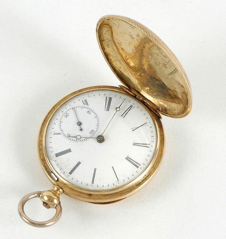 Phebe Ann Coffin Hannaford's Pocket Watch