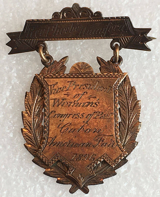 Women's Congress for Industry and Patriotism Pin