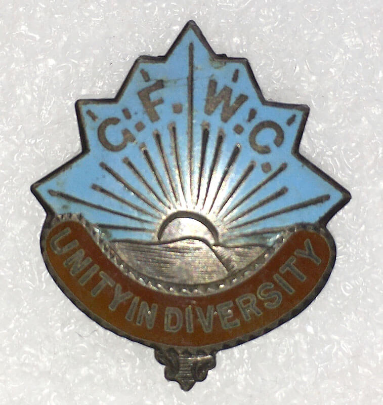 General Federation of Women's Clubs Pin