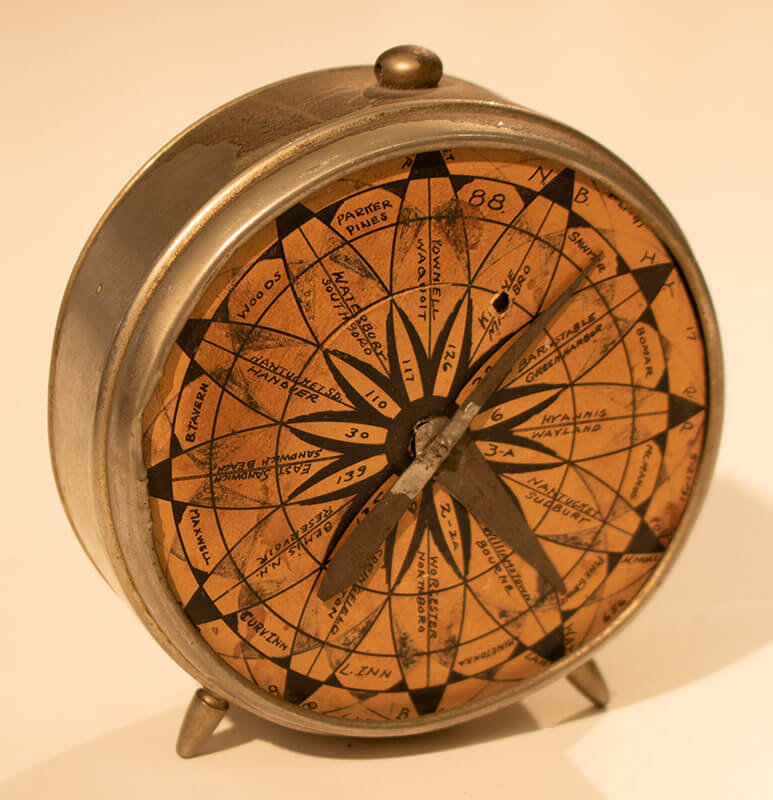 Repurposed Alarm Clock, owned by Florence Higginbotham