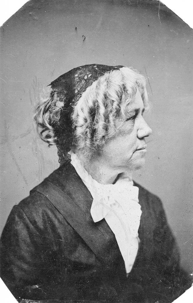 Portrait of Maria Mitchell