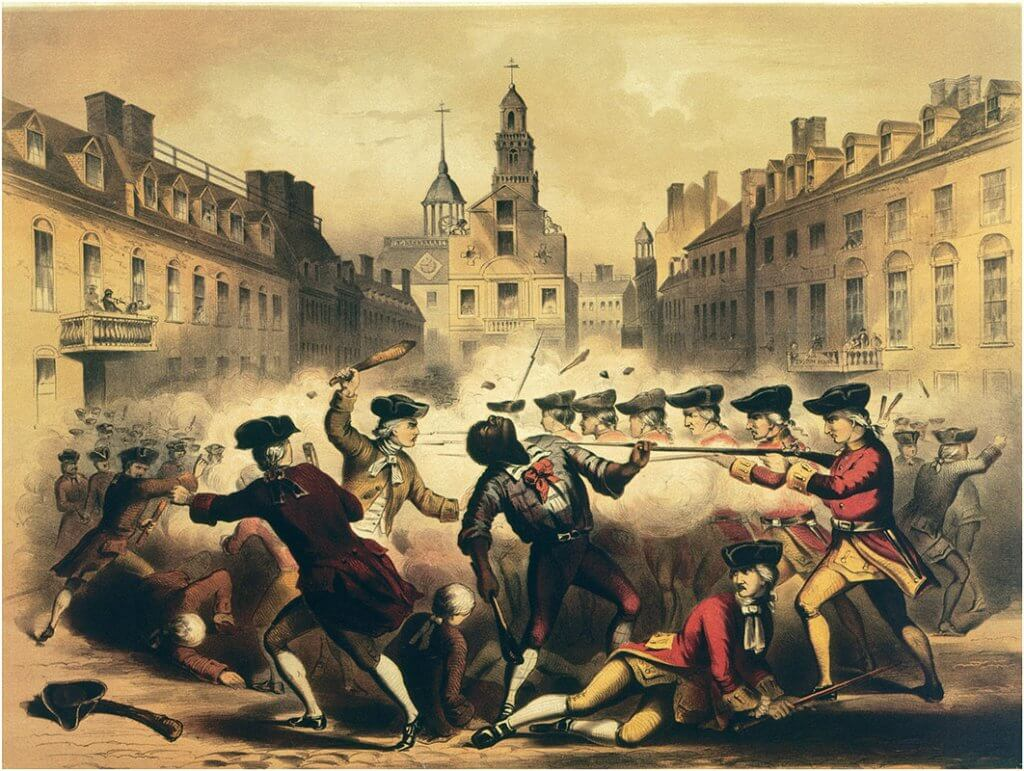 Boston Massacre, March 5th, 1770